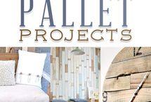 pallet ideas / by Geneva Bills carroll