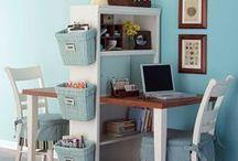 craft room/homework station