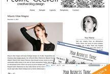 Wedding Blog Designs