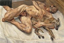 Painting. Lucien Freud