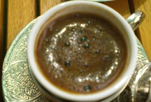 Turkish Coffee / Turkish coffee is a method of preparing coffee. Roasted and then finely ground coffee beans are boiled in a pot (cezve), usually with sugar, and served in a cup where the grounds are allowed to settle...