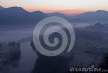 Morning mist on dreamstime / All these photos can be bought full size and with no watermark -  Follow the link