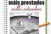 Máis prestados LITERATURA VERÁN 2014 / Os máis prestados de LITERATURA na Biblioteca Ánxel Casal XULLO-SETEMBRO 2014