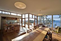 A Build, House design, furniture and gardens / by Robyn Mc