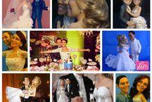 Topo de bolo / Inspirações de todos de bolo de casamento, dos mais variados tipos