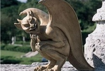 Gargoyles and dragons