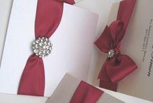 Hand Made Wedding Invitations