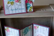 S U Flower Cards etc. / Cards etc using Stampin' up  flowers whether stamps, die cut or punched flowers