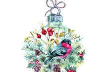 Holiday Bead Embroidery Kits