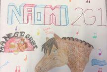 Kunst en cultuur klas 2 tekenen / Voor school