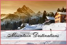 Mountain Honeymoons / Looking for a perfect mountain honeymoon destination? Check out these http://www.10honeymoondestinations.com/10-mountain-honeymoon-destinations/