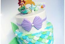 Ariel tårta