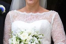 Spencer - Celia McCorquodale with George Woodhouse / Celia McCorquodale  married George Woodhouse at St Andrew and St Mary's Church in Stoke Rochford, Lincolnshire, on 18 June 2018 Celia McCorquodale, who is the daughter of Diana's eldest sister Lady Sarah McCorquodale.