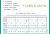 Planner e calendário