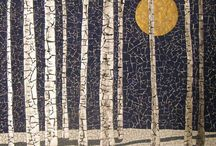 MOSAIC trees and landscapes / mosaic