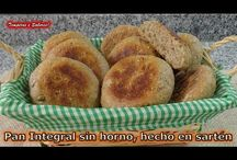 Pan integral en el fogón