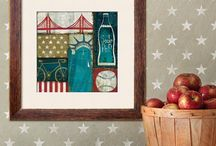 Guest/Patriotic room / by Shaela