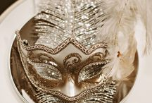 Masked Themed Wedding
