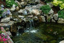 басеины, фонтаны, каскады, водопады