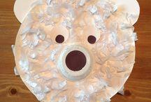 Papírové talíře a tácky tvoření