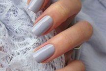 gris,argenté#manucure