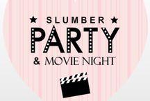 slumber party! yay