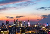 My home city Warsaw, Poland / Places to see and spend some time.