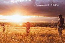 Thankfulness / Bible verses on thankfulness. Find more at http://biblegateway.com.
