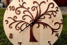 My wooden clocks