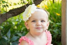 Flower Headbands for Babies, Toddlers, and Children / Beautiful Flower Infant, Baby, Toddler, and Child Headbands and Hair Accessories.