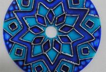 мандала на диске