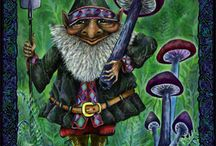 gnomes / by Kathy Woody