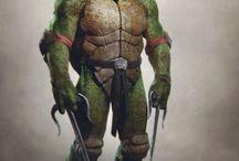 DDZ. Ninja turtles