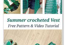 Crochet - chalecos