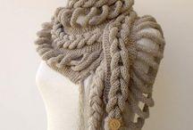 шаль шарф