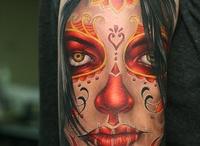 Sugar Skull Tattoos.