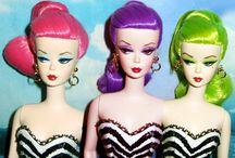 Beautiful Dolls by Dollsaga / My friend Helen sews beautiful dresses and also customizes Barbie dolls.  Take a look.