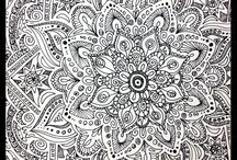 zentangle patterns & pictures & doodles & peace / tangles & doodles / by Terri Pants