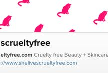 SHE LIVES LIFESTYLE / Create a cruelty free lifestyle whilst making conscious & informed decisions where & whenever possible. You can help by supporting SLCF.  We love our furry little friends.