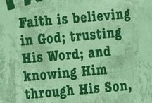 Faith / by Rebecca Winslow-Baggett