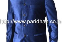 Nehru jacket / The Nehru Jacket was one element of Indian dress that penetrated western dress. Today this jacket is again getting attractions and is becoming symbol of those who are in power. That is why also known as minister jacket.