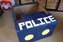 Police car bday
