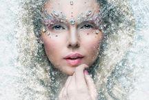 Winter queen - make up inspiration