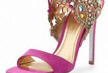Heels for Indian Weddings / Perfect heels to complete bridal wear throughout the wedding week!