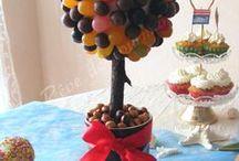 arbres et autres en bonbons