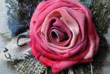 Rosas adorno