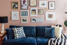 Cores Tendência 2016: Rosa Quartz e Azul Serenity / Deixe que estes dois tons suaves invadam a sua casa e transmitam uma sensação de equilíbrio, calma, bem-estar e tranquilidade. :)