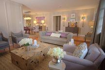 Grey lilac lounge