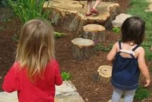 Childcare playgrounds