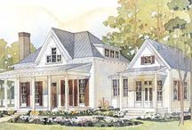 Southern Living House Plans / A look at beautiful house plans available from Southern Living Magazine.